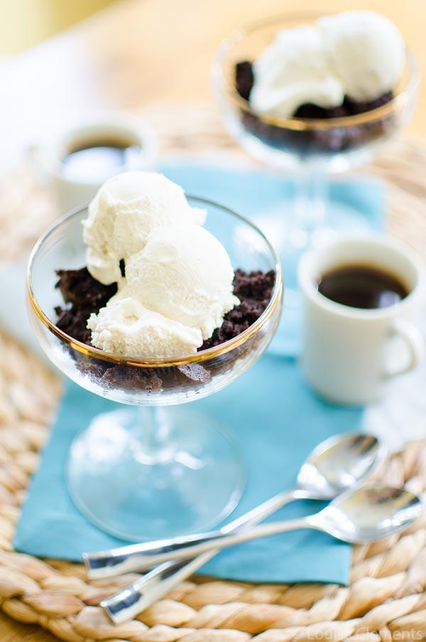 Brownie Fudge Iced Coffee