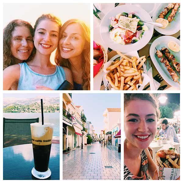 Taking a look back at a wonderful summer, here are highlights from Greece in August 2015. The Month in Moments: Summer 2015. | livinglou.com
