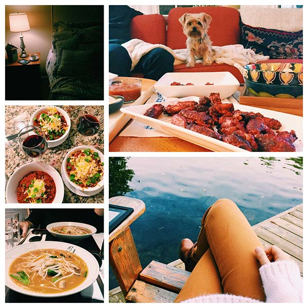 Some of the highlights of October 2015, a weekend at the cottage, ramen, Blue Jays and chili. | livinglou.com