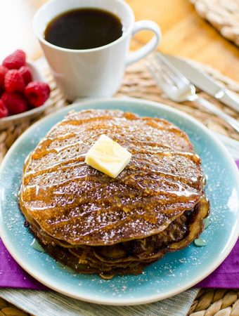 Coffee Buttermilk Pancakes