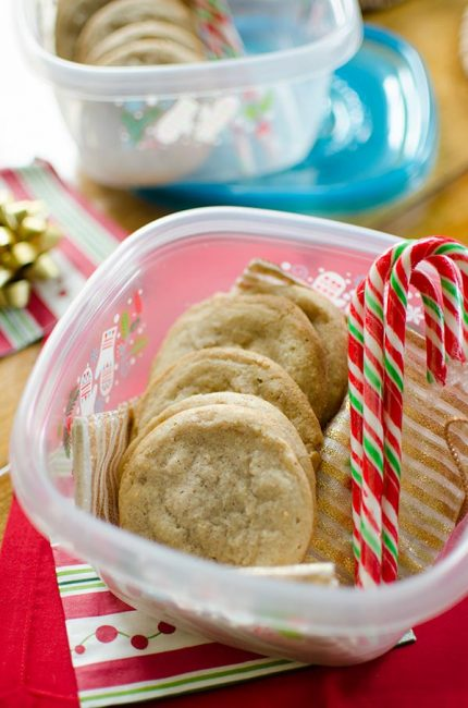 Add some holiday flavour to a simple drop sugar cookie with this recipe for chai spiced sugar cookies.   livinglou.com