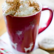 Homemade peppermint mocha
