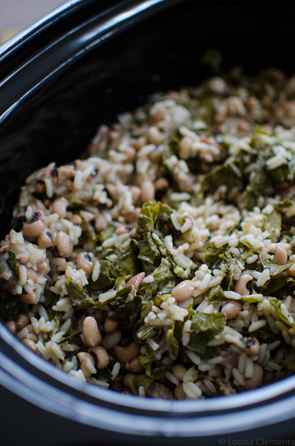 Welcome the New Year by making a traditional recipe for a good luck favourite in your slow cooker with this recipe for slow cooker Hoppin' John.