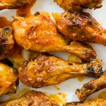 Baked Buffalo Chicken Legs