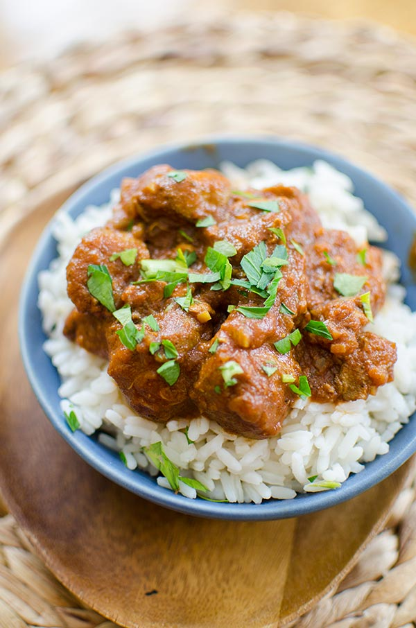 Make your favourite Indian takeout at home with this recipe for slow cooker chicken tikka masala.   livinglou.com