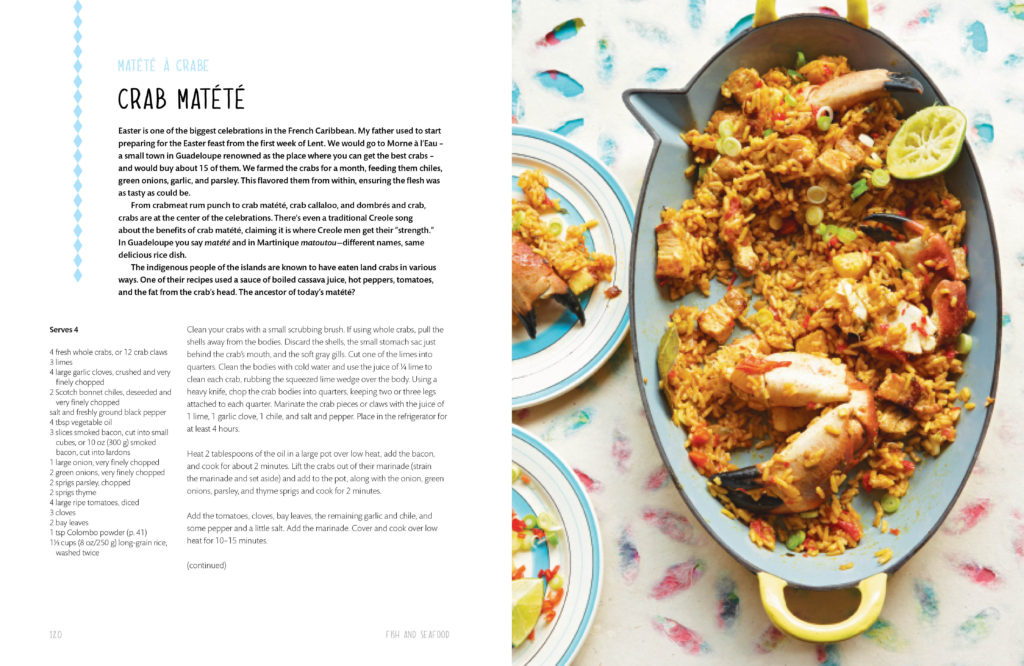 Crab mattete from 'Creole Kitchen'