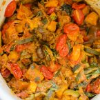 French ratatouille in a pot