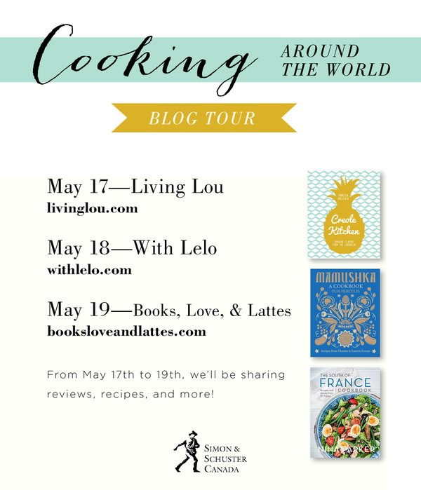 cooking around the world blog tour with recipes from the South of France, Ukraine and the Caribbean. | livinglou.com