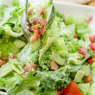 A vegan and creamy herbed tofu salad dressing with parsley, dill and silken tofu.   livinglou.com