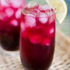 Blueberry vodka lemonade is the perfect refreshing summer cocktail. | livinglou.com