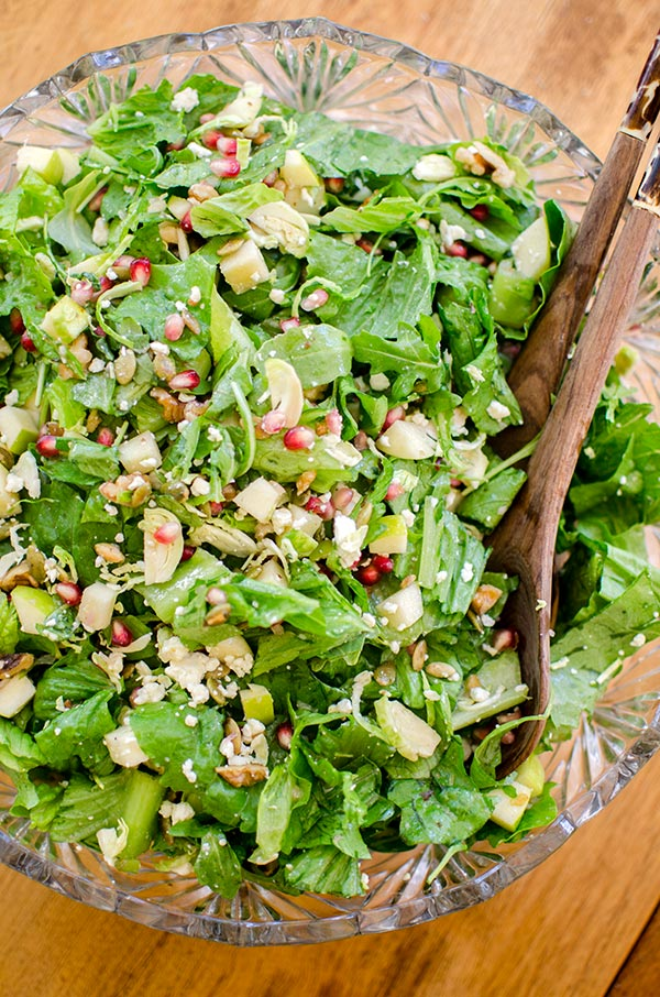 Thanksgiving chopped salad