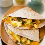 Quick Breakfast Quesadillas
