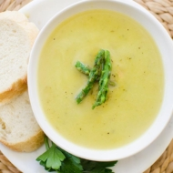 light asparagus soup - Asparagas Soup