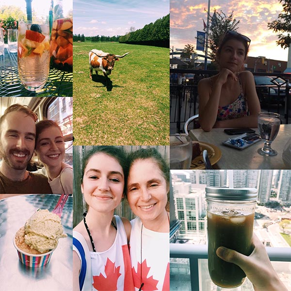 A few snapshots of my summer so far in Toronto.