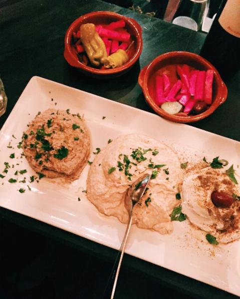 Dinner at Tabule in Toronto