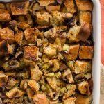 Small Batch Vegetarian Stuffing