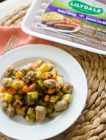 Maple Sage Turkey Breakfast Sausage Hash