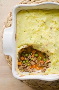 Lamb Shepherd's Pie in dish