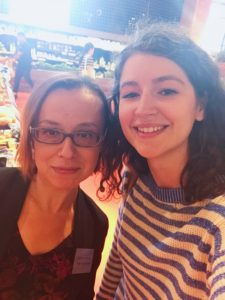 Louisa Clements and Loblaw dietician Emilia