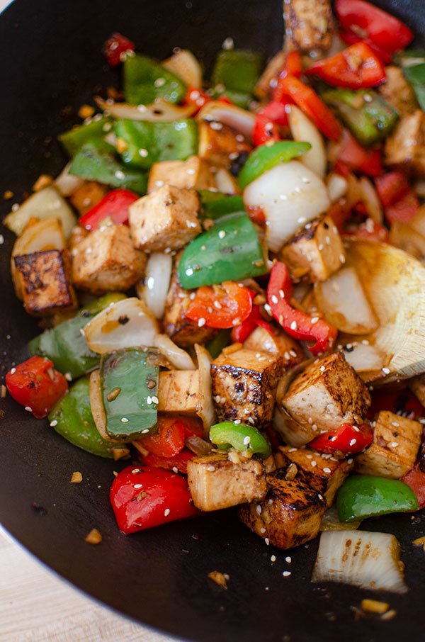 Tofu Bell Pepper Stir Fry Living Lou